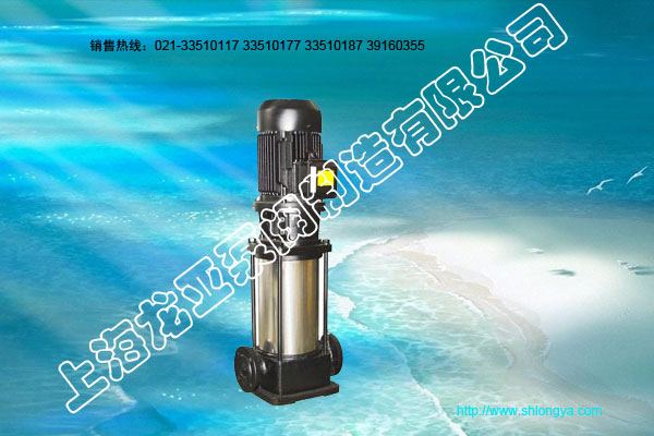 GDF立式单级不锈钢耐腐蚀管道泵