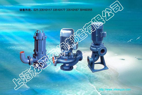 WL型干式便拆立式排污泵